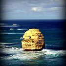 Rock Stack - Limestone Coast by Chris Chalk