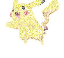 Pikachu by Heather Saldana