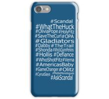 Scandal Hashtag iPhone Case/Skin