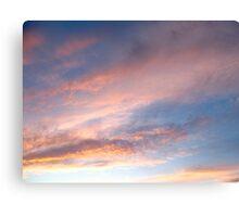 Grecian skies Canvas Print