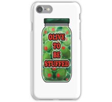 Stuffed Olives iPhone Case/Skin