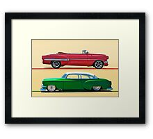 1954 Custom Chevrolet Bel Air w/o ID Framed Print
