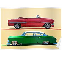 1954 Custom Chevrolet Bel Air w/o ID Poster