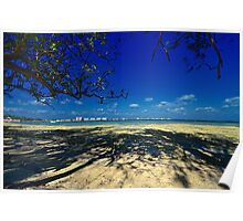 View of Paradise Island from Montagu Beach in Nassau, The Bahamas Poster
