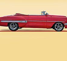 1954 Custom Chevrolet Bel Air w/o ID by DaveKoontz
