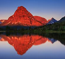 Two Medicine Sunrise - Glacier National Park by Mark Kiver