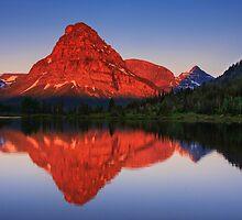 Two Medicine Sunrise - Glacier National Park by Mark Kiver