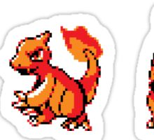 Charmander Evolutions Sticker