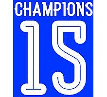 CHAMPIONS 15 Photographic Print