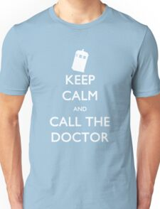 Keep Calm and Call the Doctor (TARDIS) Unisex T-Shirt