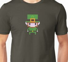 Pixel Art Leprechaun Unisex T-Shirt