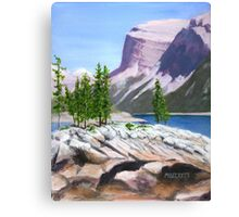 Lake Minnewanka Canvas Print