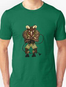 Krampus the Christmas Devil Unisex T-Shirt