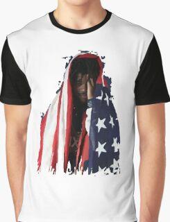 Amerikkkan Steez Graphic T-Shirt