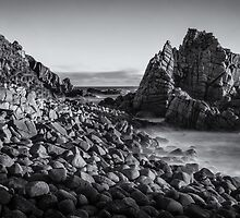 Cape Woolamai, Phillip Island - in monochrome by photograham