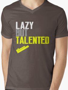Lazy But Talented Mens V-Neck T-Shirt