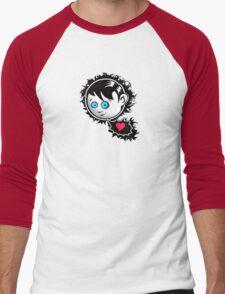 Emo love Men's Baseball ¾ T-Shirt