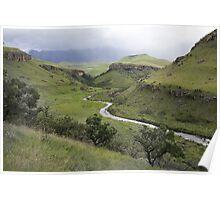 Bushman River Poster