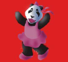 Ballerina Panda Kids Tee