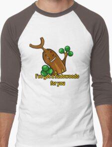 Sudowoodo Men's Baseball ¾ T-Shirt