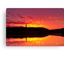 Painkalac Sunrise Canvas Print