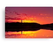Painkalac Sunrise Canvas Print