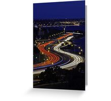 Kwinana Freeway - Western Australia  Greeting Card