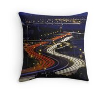 Kwinana Freeway - Western Australia  Throw Pillow