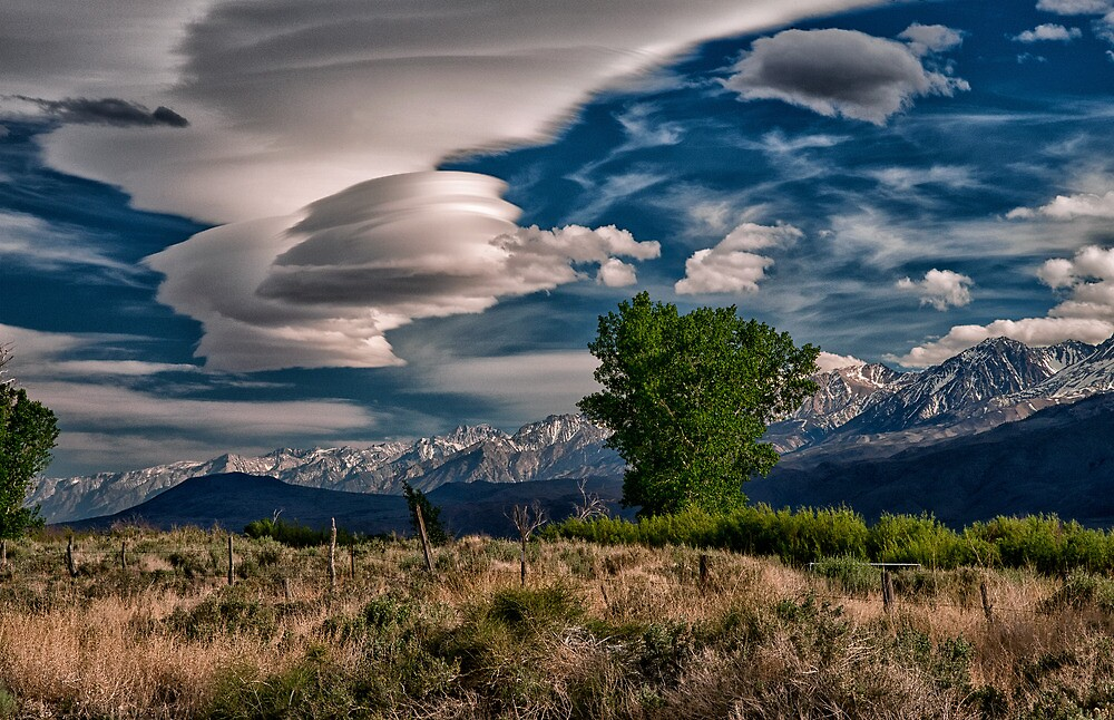 Owens Valley Lenticular by Cat Connor