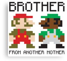 Brother From Another Mother Canvas Print