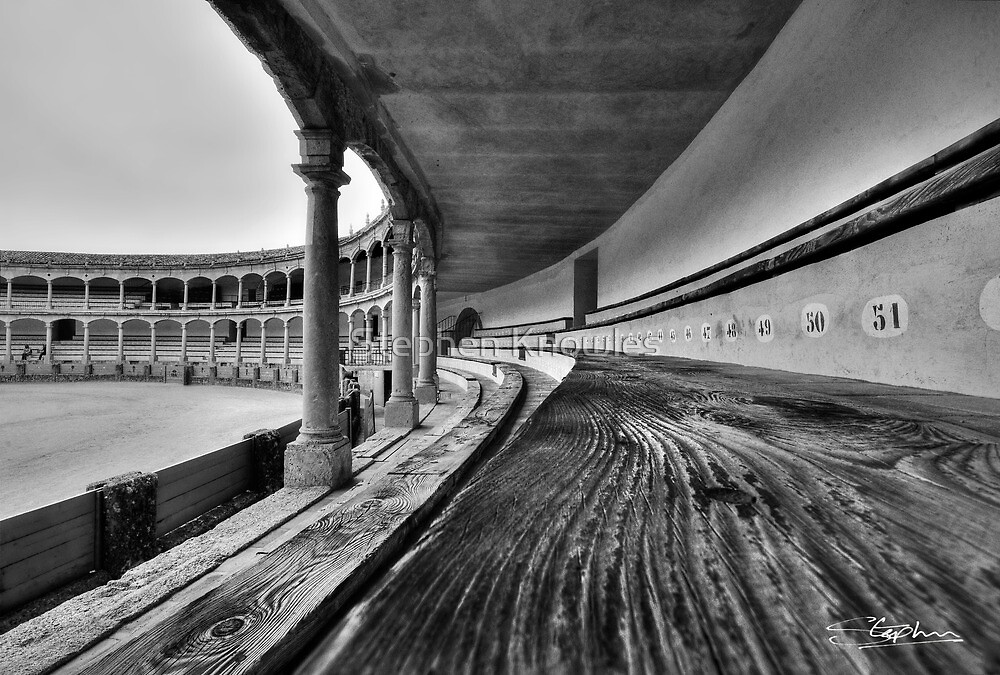 Ronda Bull Ring (HDR) by Stephen Knowles