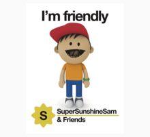 Super Sunshine Sam & Friends - Bob Baby Tee