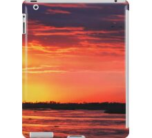 Platte River Sunset iPad Case/Skin