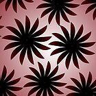 Dark Daisies (iPhone/iPod/iPad case) by ScaleDesigns