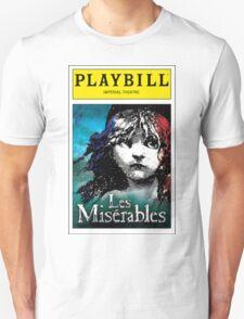 Les Miserables Playbill T-Shirt