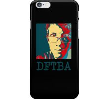 Hank Green DFTBA Black  iPhone Case/Skin
