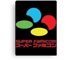 Super Famicom Canvas Print