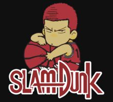Slam Dunk Sakuragi Anime T-Shirt by briancastro