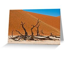 Collapsed giants Greeting Card