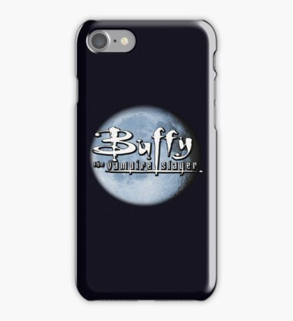 Buffy logo iPhone Case/Skin
