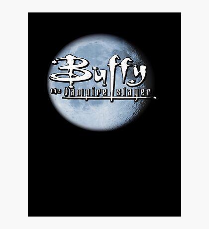 Buffy logo Photographic Print