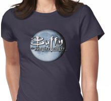 Buffy logo Womens Fitted T-Shirt