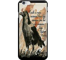 Death Crow - Quotes iPhone Case/Skin