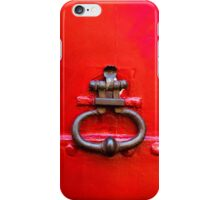 Old Vintage wooden door iPhone Cases iPhone Case/Skin