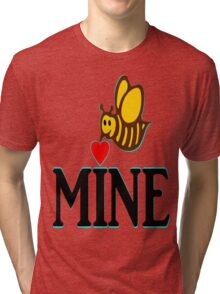 °•Ƹ̵̡Ӝ̵̨̄Ʒ♥Bee Mine-Cute HoneyBee Clothing & Stickers♥Ƹ̵̡Ӝ̵̨̄Ʒ•° Tri-blend T-Shirt