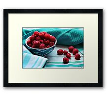 Ruby Delicious Framed Print