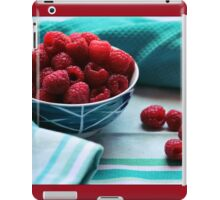 Ruby Delicious iPad Case/Skin