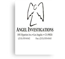 """Angel Investigations (From the series """"Angel"""") Canvas Print"""