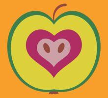 Apple Heart by tiffany2708