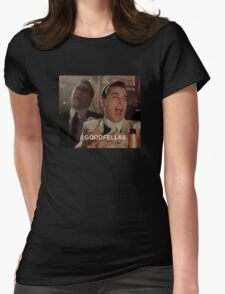 Goodfellas Laughing  Womens Fitted T-Shirt